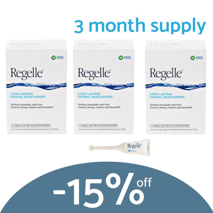 3 month supply Regelle